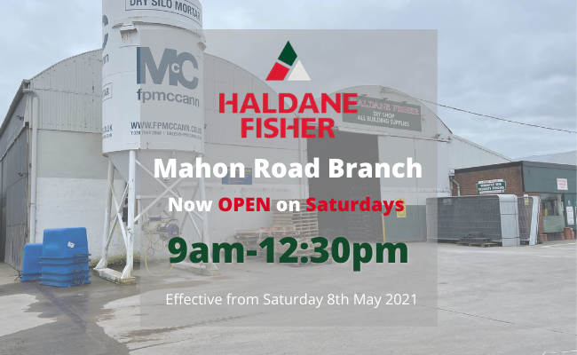 Mahon Road Branch Now Open on Saturdays