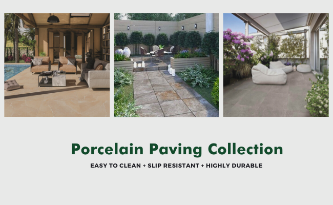 New Porcelain Paving Collection