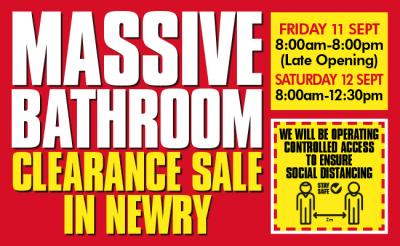 Bathroom Clearance Sale - Newry