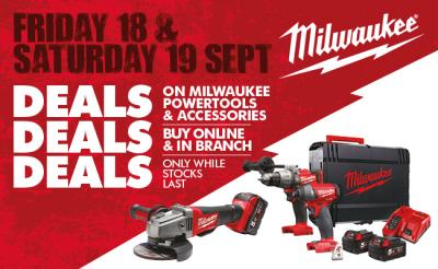 Huge Milwaukee Deals This September