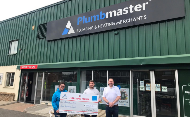 Plumbmaster Steps up to Raise £3000 for Addiction NI